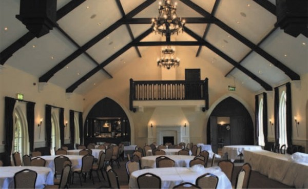 new function hall at the brooklodge hotel macreddin